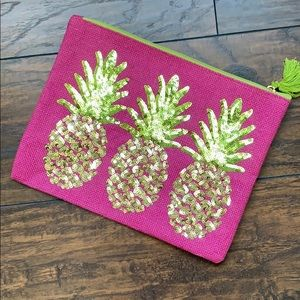 Mud Pie | Pineapple Carry All Purse